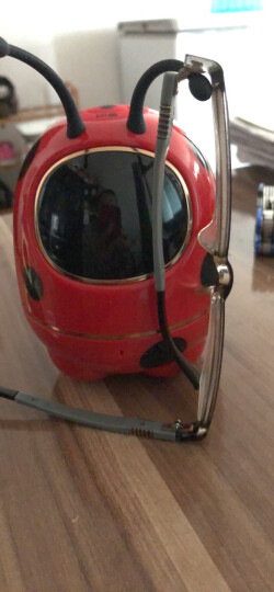 科大讯飞金龟子机器人儿童教育陪伴语音早教益智智能机器人 红色 晒单图