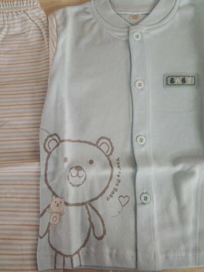 南极人(Nanjiren) 南极人儿童秋冬棉衣外套夹棉夹克宝宝外套婴儿加厚外出服 云朵小熊-浅灰 90cm 晒单图