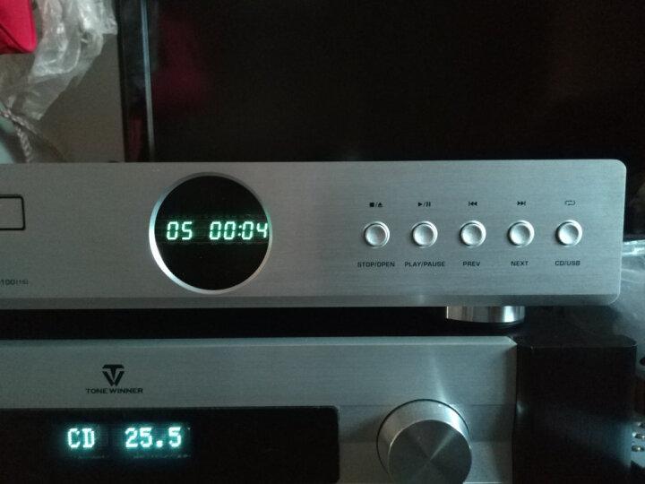 山灵(SHANLING) 山灵CD-S100 HIFI发烧CD播放机 家庭发烧音响 USB U盘输入 银色 晒单图