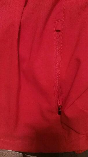 【经典款】TheNorthFace北面防风防泼水户外运动男软壳夹克|CAU4 65J/红色 L 晒单图