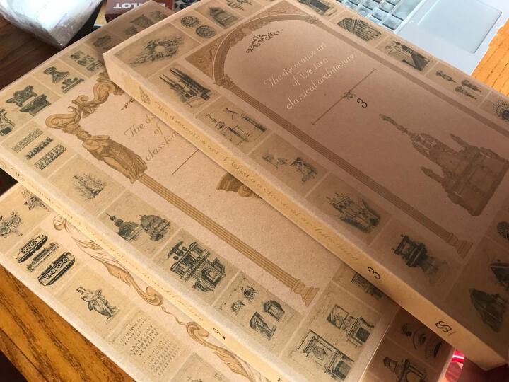 【商城原版全新塑封当天发货】西方古典建筑装饰艺术的文化发展史3本/套全新塑封 晒单图