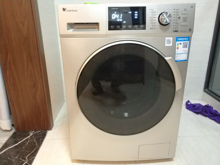 小天鹅(LittleSwan) 变频滚筒洗衣机10公斤洗烘一体TD100S32DG5 TD100-1422WDG 晒单图