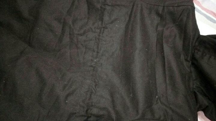 童装女童外套儿童毛呢大衣加厚保暖2018冬装新品女孩韩版长款呢子加厚保暖大衣 姜黄色 140码 晒单图