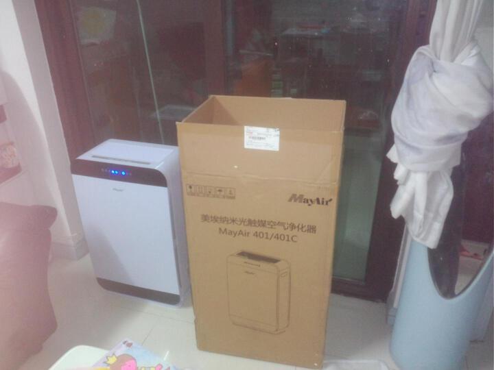 英国美埃(MayAir)空气净化器家用过滤气味烟尘除甲醛雾霾 美埃401+替换滤网 晒单图