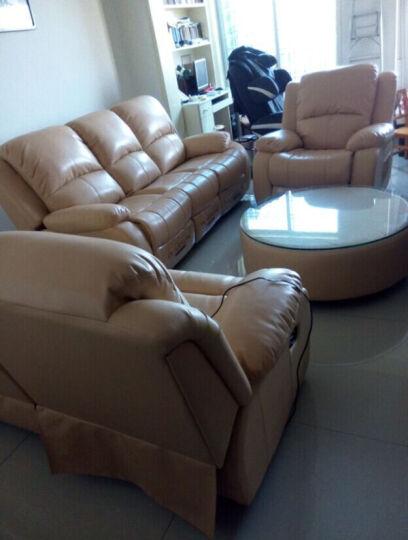 非众客厅家具真皮沙发组合123头层牛皮大小户型沙发太空舱沙发多功能家庭影院电动双人三人沙发 二人位 手动伸展 晒单图