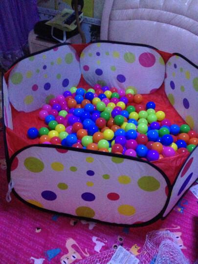澳乐婴儿波波海洋球池 儿童帐篷 宝宝游戏屋 亲子互动游戏户外玩具 儿童波波池+约200粒球 晒单图
