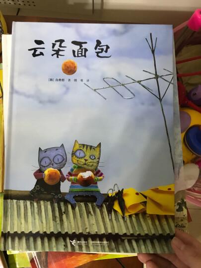 儿童书籍云朵面包 精装绘本0-3-6岁儿童故事图画本宝宝亲子早教彩图读物中文简体 晒单图