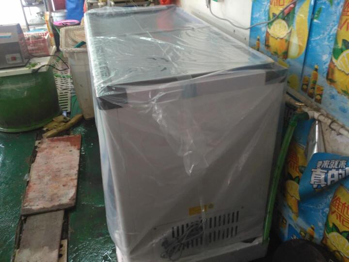 百利(BAILI)338升卧式双温双机冷柜玻璃门冷冻冷藏饮料雪糕 便利店商用展示冰柜WCD-338S 晒单图