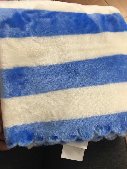 合雨情侣枕巾双面超柔秋冬季加厚保暖珊瑚绒枕巾剪花法兰绒单人枕头巾一对 玫红色 48*80cm 晒单图