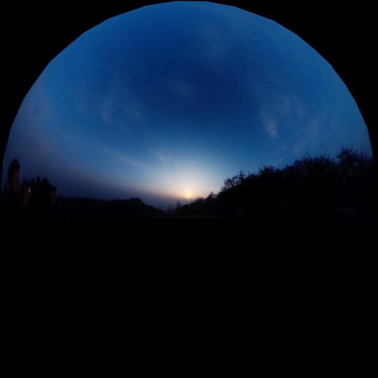 史历克4K全景相机360度摄像机旅行滑雪运动自拍神器1600万像素带wifi黑色 标配加32G内存卡 晒单图