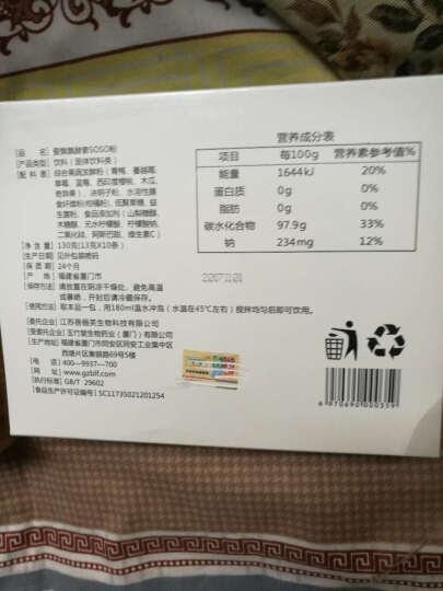[买一盒送一盒]爱飘飘酵素粉正品新包装飘飘飘酵素粉固体饮料 13g*10袋 买一盒送一盒(发两盒) 晒单图
