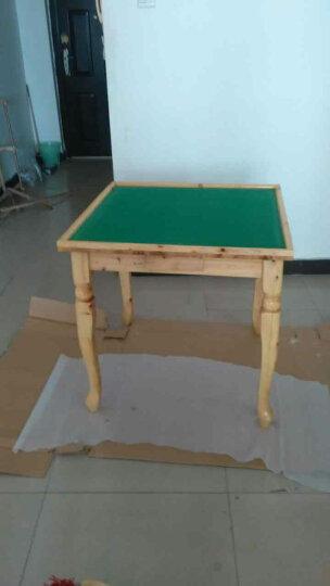 实木麻将桌餐桌家用简易手搓棋牌桌双层多功能两用麻雀台 单椅子 晒单图