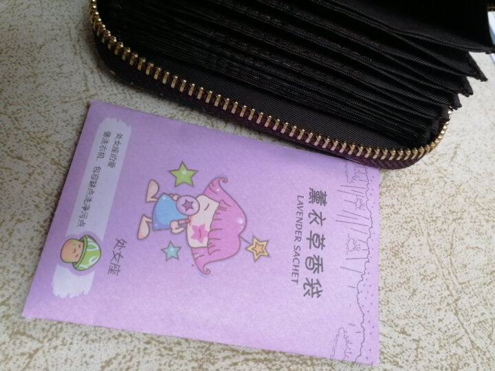 风琴拉链小卡包卡通女迷你印花零钱包可爱银行卡片夹 小象2 晒单图