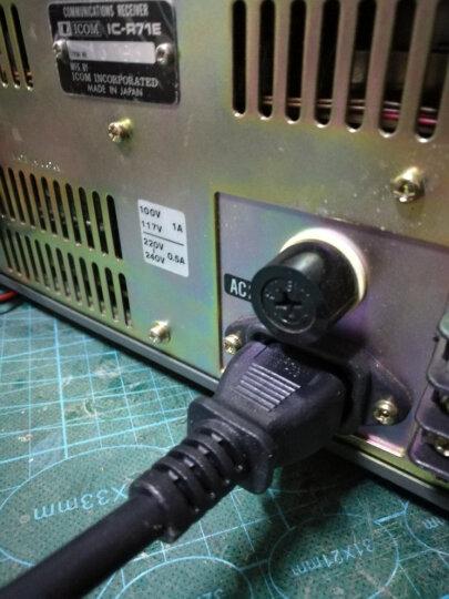 三堡(SANBAO)SG-130 电源线纯铜线芯电脑电饭锅显示器打印机品字头三孔电源线 1平方铜芯国标电源线3米 晒单图