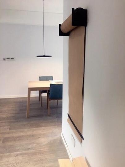 ins网红手绘Studioroller牛皮纸卷咖啡店工作室墙面壁饰儿童画板 不同的墙体,拍下备注适合的螺丝 晒单图