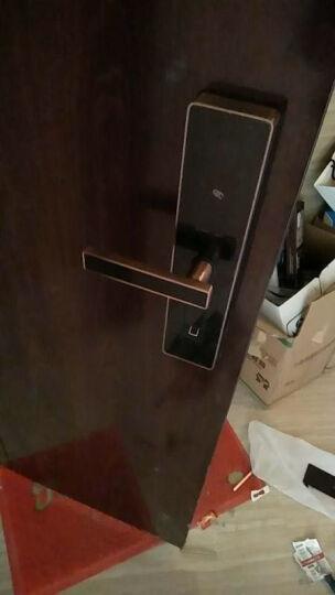 玛莎洛克德国 智能指纹锁防盗门锁 智能锁家用防盗门密码锁电子锁手机APP远程开启S6 星空黑(APP开锁+指纹+密码+卡片+钥匙) 晒单图