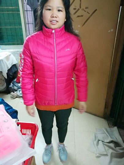 贵人鸟羽绒服女装外套休闲运动服保暖修身 -4幻彩绿 S 晒单图