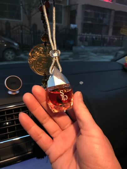 圣浪登汽车香水挂件车载挂式香水瓶精油挂饰香水瓶 魔钻-桂花依兰 晒单图