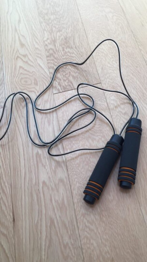 酷峰 专业轴承跳绳减肥健身成人学生儿童中考专用可调节绳子 跑男指压板4片+基础跳绳1根 晒单图