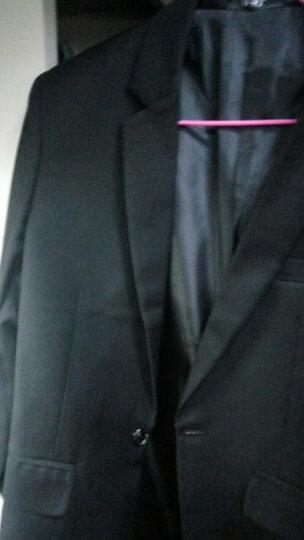 【wpkds】西服男春季装新款男士套装小西装男韩版修身单西便服外套男 黑色(单上衣) 2XL(150斤以内) 晒单图