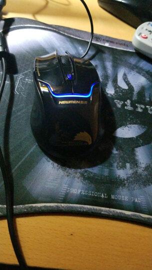 地狱火(FIRE-PAD)黑色病毒 办公游戏皆可 可卷曲 便携 鼠标垫 自营 晒单图