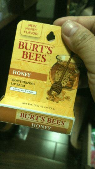 Burt's Bees 美国小蜜蜂唇膏保湿滋润护唇膏 蜂蜡 晒单图