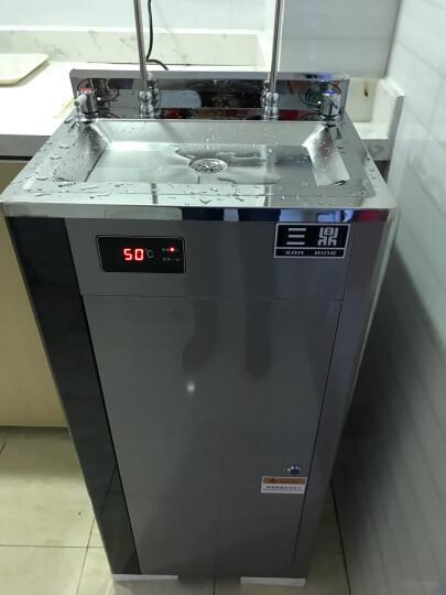 三鼎  直饮开水器开水机商用直饮机净水过滤一体机烧水机制冷饮水机 一开一冰水(定制)220V 晒单图