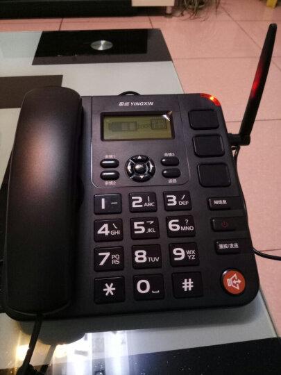 盈信(YINGXIN)盈信6型  无线电话 无线座机  插卡电话机座机 移动联通手机SIM卡 大音量 老人电话(黑色) 晒单图