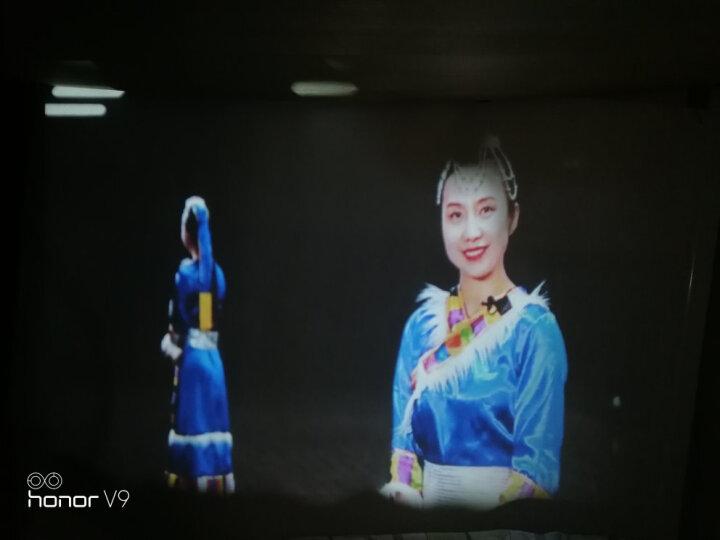 轰天炮LED96投影仪家用迷你便携办公全高清无线激光电视wifi手机智能投影机1080P家庭3D影院 96白色 AI语音版(大镜头更高清) 旗舰版(带WIFI+蓝牙) 晒单图