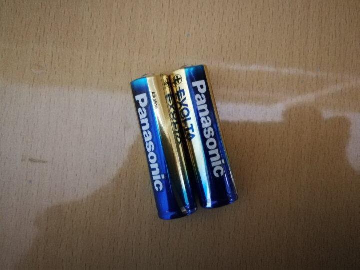 松下(Panasonic)进口碱性数码5号五号AA干电池2节全能型适用玩具遥控器手电筒键鼠LR6EGC/2B 晒单图