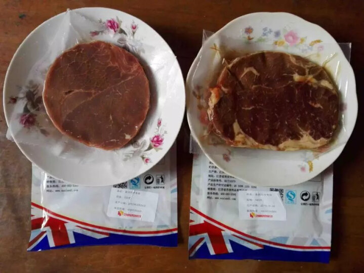 伊赛 家庭尊享西冷沙朗牛排套餐10片1500g 调理牛排 谷饲牛肉 晒单图