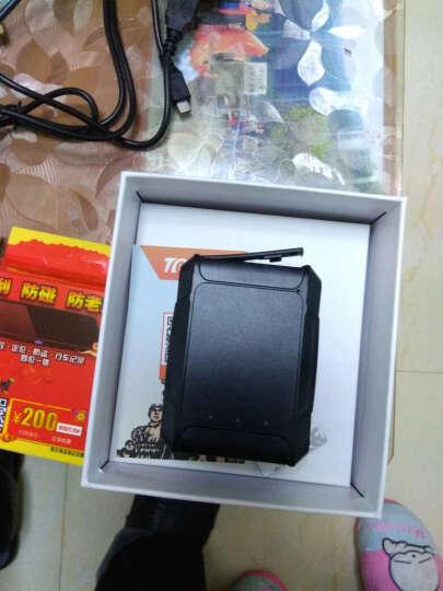 途创(TuChuang) gps定位器微型汽车跟踪器免安装追踪器 GPS定位仪车载防盗器 录音WIFI+防拆+北斗双星+卡+防水套(3年待机 晒单图