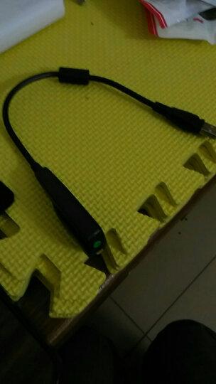 现代(HYUNDAI) SK10笔记本台式机电脑外置USB免驱独立声卡便携转耳机孔声卡 黑色 晒单图