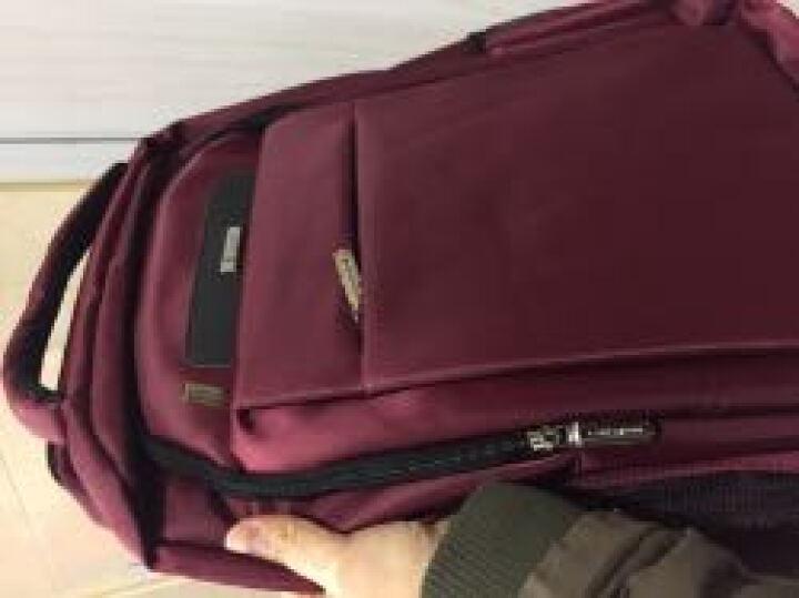 老人头(LAORENTOU)双肩包16英寸男女学生书包笔记本休闲运动大容量旅行背包 840J001L2S 红色大号 晒单图