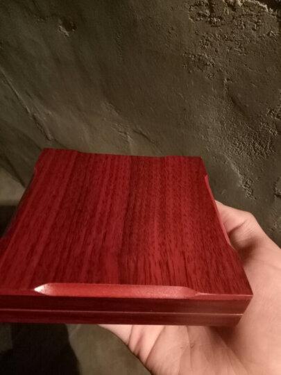 传情美谊 情侣纪念币 个性定制金银币创意刻照片刻字定做生日礼物情人节送男女友 赠送木盒刻字 银色一面文字+一面照片 晒单图