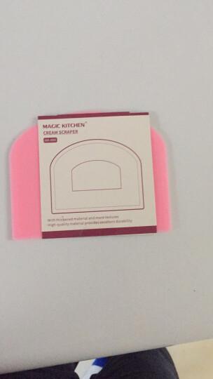 魔幻厨房 粉色塑料刮板 蛋糕奶油抹平 面团面粉饼干月饼切割 粉色刮板 晒单图