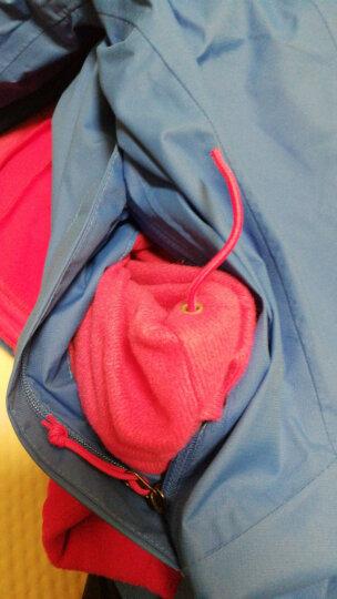 【经典款】TheNorthFace北面女三合一户外防水秋冬冲锋衣外套|3CGU W8G/蓝色 S 晒单图