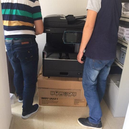 东芝(TOSHIBA) 2010/2510AC彩色激光打印机复印机网络打印复印扫描一体机 东芝2010AC+自动输稿器+无线wifi模块 两个纸盒 晒单图