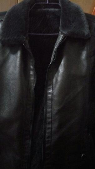 花花公子贵宾中老年男装春秋老年装外套爸爸装老人男式棉服爷爷装 普通款 XL 晒单图