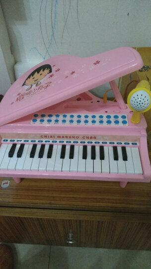 樱桃小丸子儿童电子琴 男女孩早教益智玩具可插电教学琴宝宝钢琴礼物NO.378(双供电模式) 晒单图