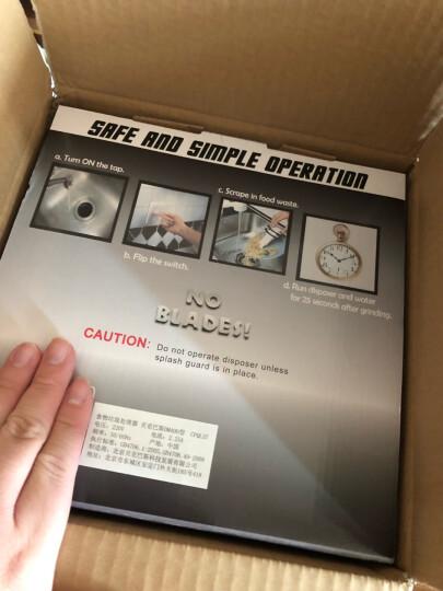 贝克巴斯(BECBAS)DM400 食物垃圾处理器处理机家用厨房厨余粉碎机重载型 晒单图