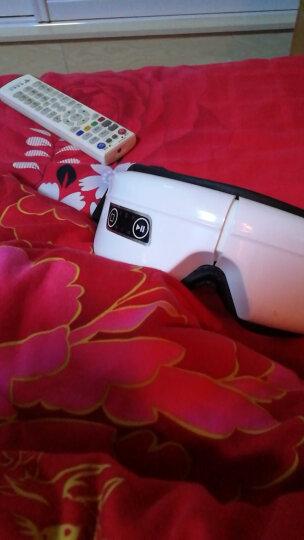 科仕隆 眼部按摩器 护眼仪近视力恢复仪眼保仪眼睛按摩器眼镜眼罩 去眼袋黑眼圈ZRAY002 白色无线款 晒单图