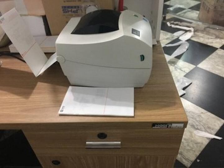 斑马(ZEBRA)GK888t条码打印机二维码热敏不干胶标签物流快递电子面单打单机 斑马gk888t(标配+网口) 晒单图