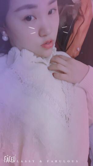 璀莉 连衣裙2018春夏季新款大码女装韩版时尚休闲运动服针织短袖两件套套装裙645 图片色 M 晒单图