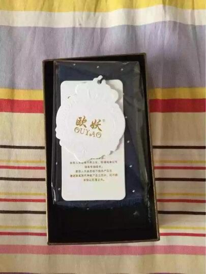 欧妖新款领结男士结婚正装商务韩版 礼服红色新郎婚礼英伦蝴蝶结礼盒装 暗格黑色 晒单图