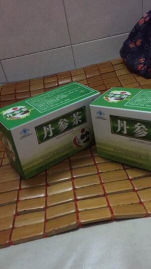 济福生牌 中江丹参茶20包/盒 降血脂耐缺氧可搭配降血糖血压三高药三七丹参保心茶养生茶 4盒 80包 晒单图