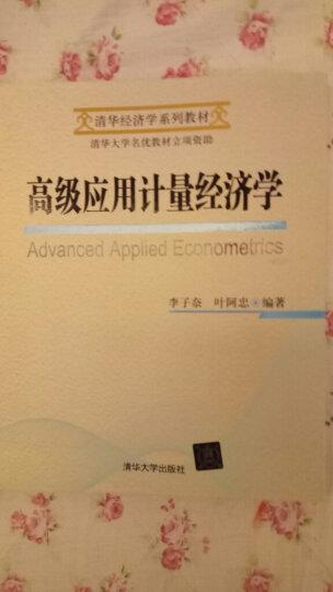 清华经济学系列教材:高级应用计量经济学 晒单图