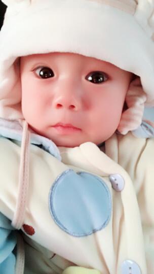 威尔贝鲁(WELLBER)男女鸭舌帽 婴儿遮阳帽宝宝新生儿帽子四季空顶帽M号55cm 晒单图
