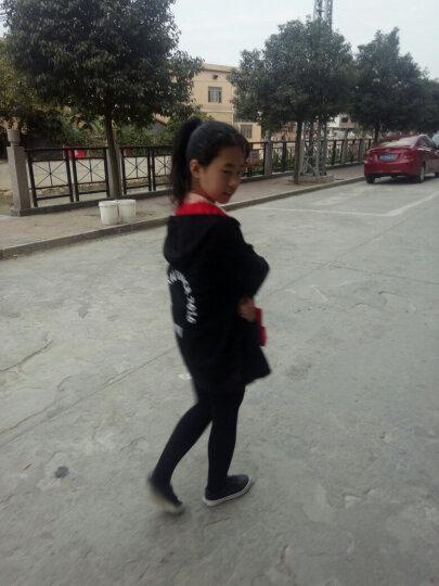 圣笑 女童外套儿童春秋装 2018新款冬季韩版加厚双面风衣 加厚双面风衣图片色 140码建议身高130cm 晒单图