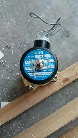 Sinnaider 纯铜电磁阀 水油蒸汽控制阀门 常闭12V/24V/220V DN35  1寸2分管 (2W350-35) 12v 晒单图